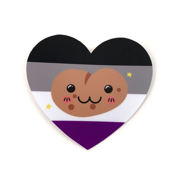 Asexual Potato Sticker
