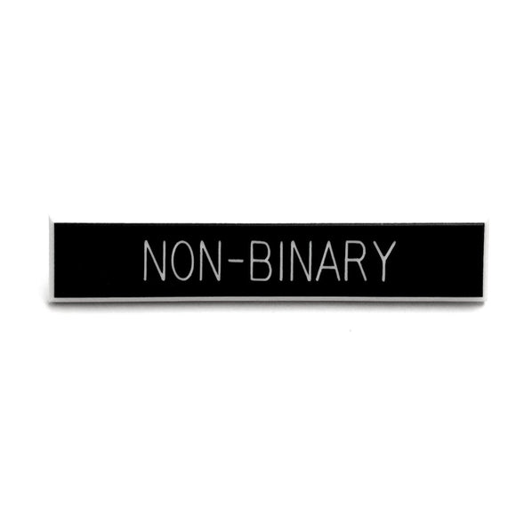 Non-Binary Pin