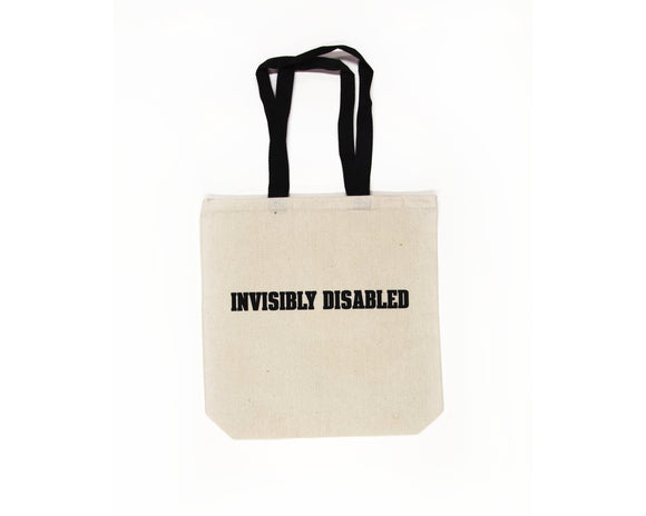 Invisibly Disabled Tote Bag