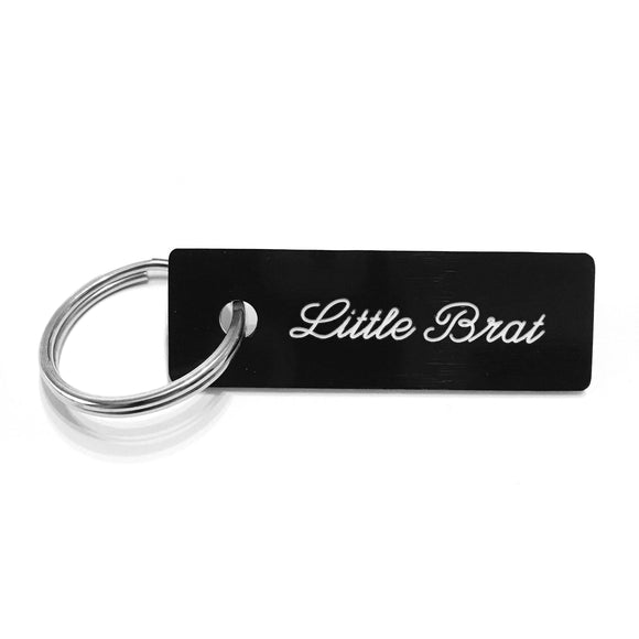 Little Brat Keychain