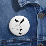 Bunny Ears Button