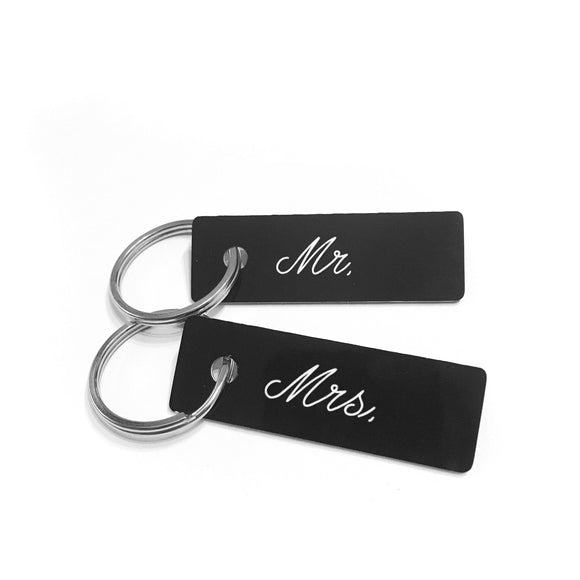 Mr./Mrs/Mx Keychains