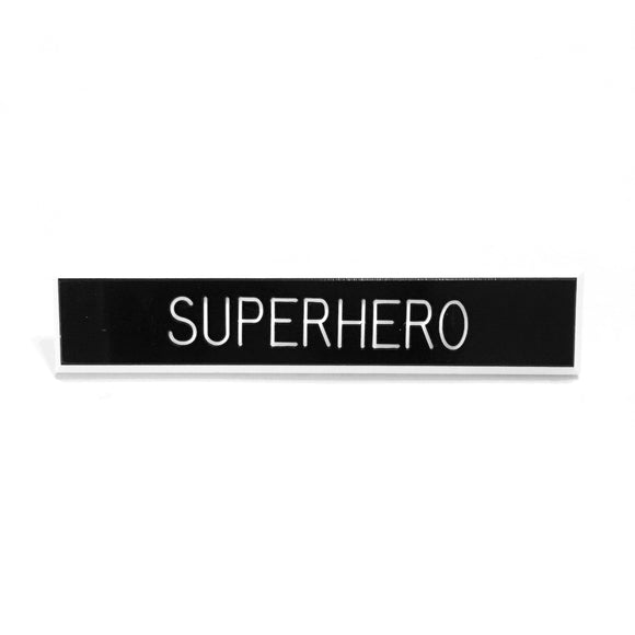 Superhero Pin