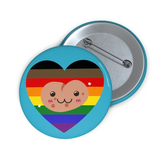LGBT Pride Potato Button