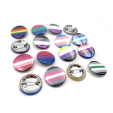 Pride Flag Buttons