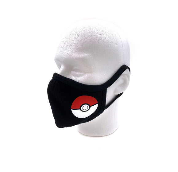 Pokeball Face Mask