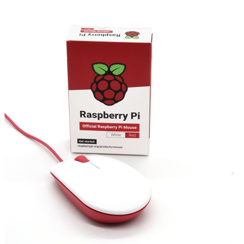 PepperTech Digital Raspberry Pi 400 Computer and Mouse Value Pack (U.S. Layout - Red/White)