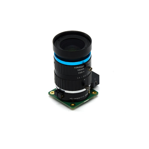 Image of PepperTech Digital Raspberry Pi HQ Camera Value Pack (Includes Raspberry Pi 12.3MP HQ Camera and 16mm Telephoto Lens)