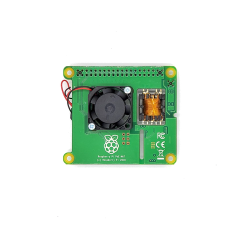 Raspberry Pi Power Over Ethernet HAT for Raspberry Pi 3 Model B +