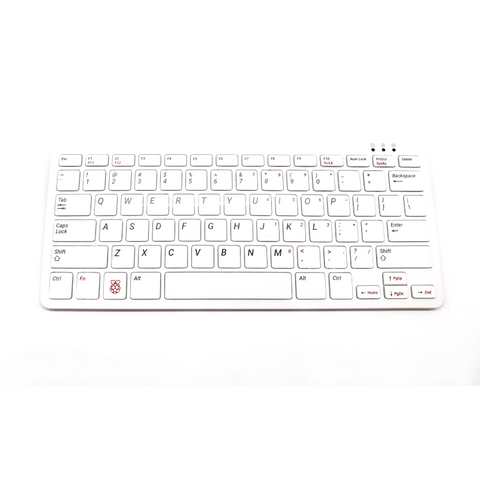 PepperTech Digital Raspberry Pi Official Keyboard and Mouse Value Pack (U.S. Layout)