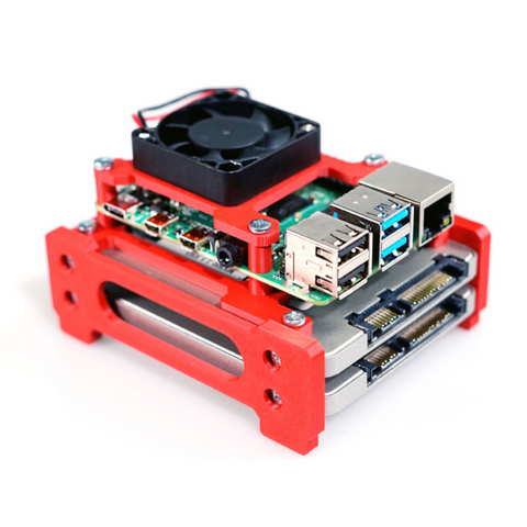 Image of TerraPi Alpha Raspberry Pi SSD Case