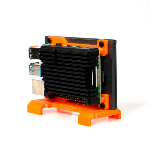 Image of TerraPi Q – A Quiet TerraPi - Raspberry Pi SSD Case / RPi NAS Server Case