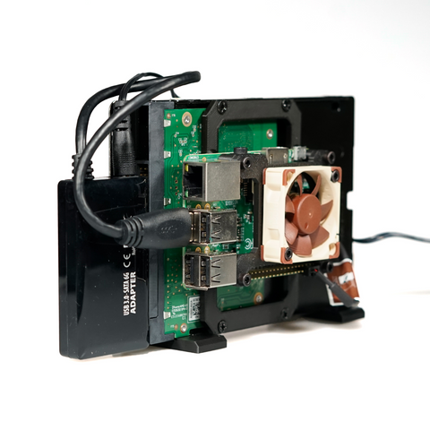 Image of TerraPi XL - Raspberry Pi HDD Case / RPi NAS Server Case with Fan Mount