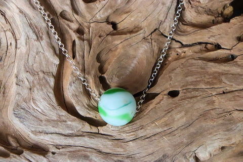 Seaglass Marbles Necklace