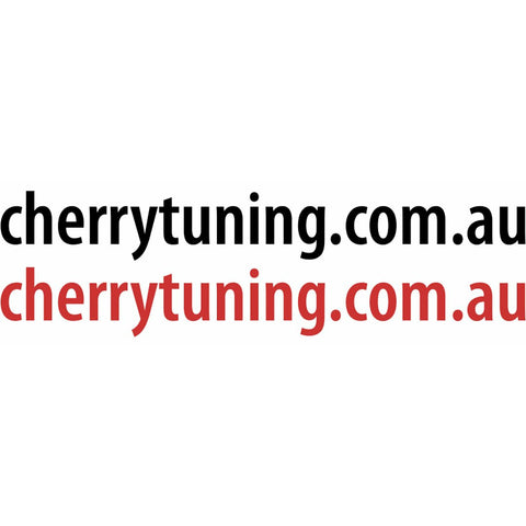 Cherry Tuning URL Sticker