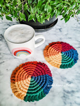 Load image into Gallery viewer, Rainbow Coasters