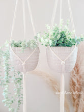 Load image into Gallery viewer, Macrame Plant Hangers - Set of 2