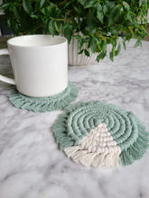 Load image into Gallery viewer, Coaster Set - Agave & Jade