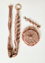 Load image into Gallery viewer, Macrame Gift Set - Rose