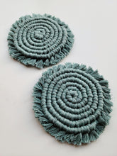 Load image into Gallery viewer, Set of 2 Coasters - Jade