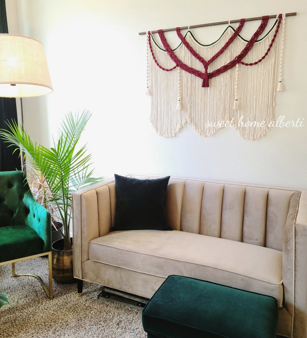 Large Macrame Wall Hanging -