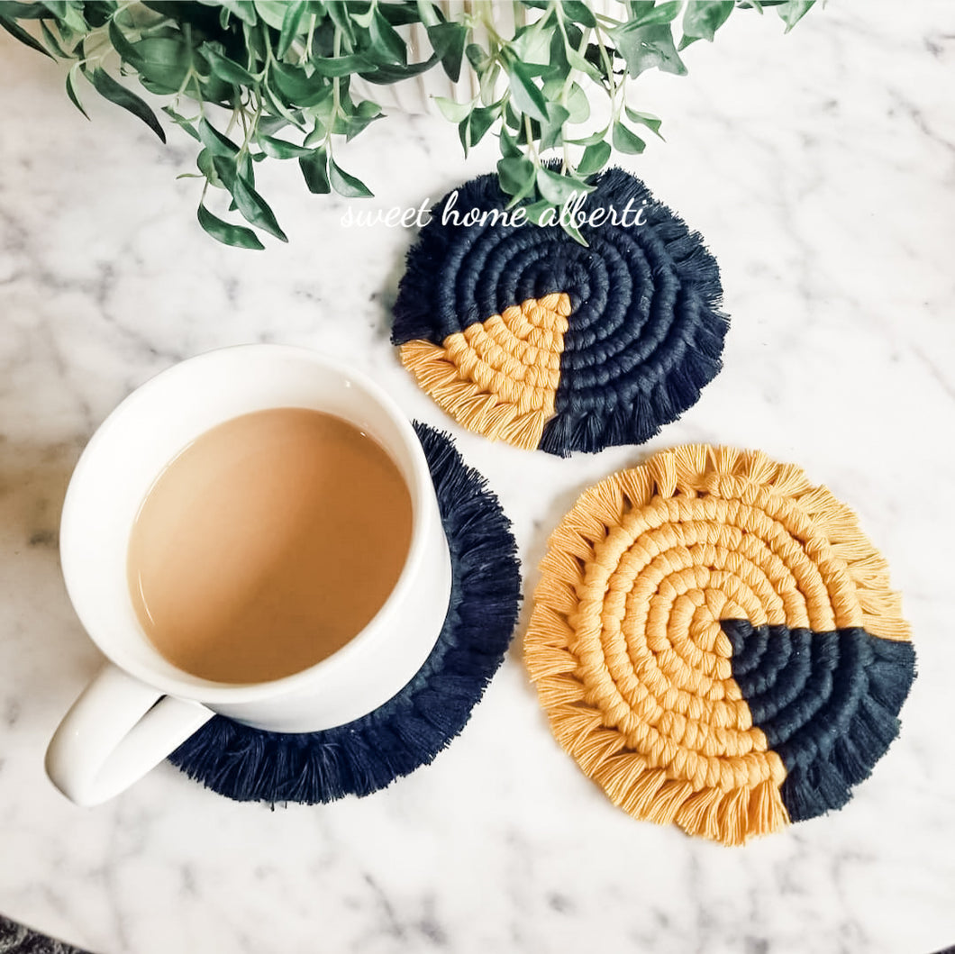 Coaster Set - Black