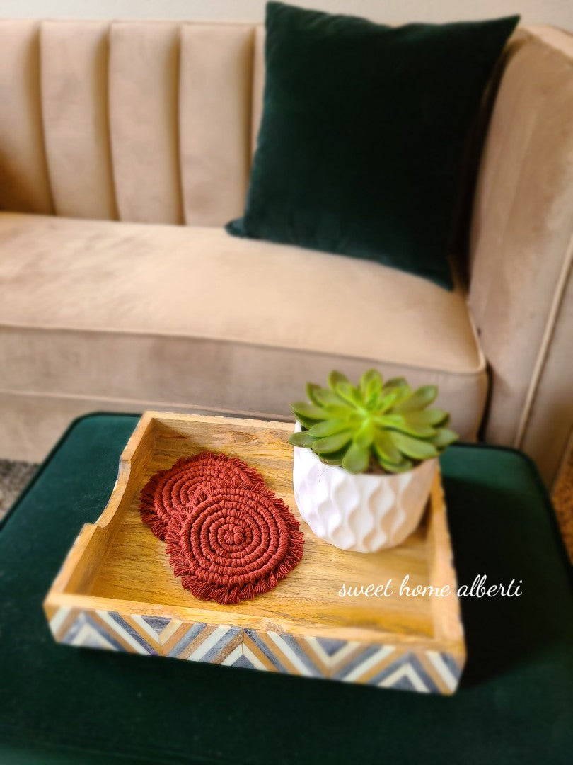 Coaster Set - Solid Colors