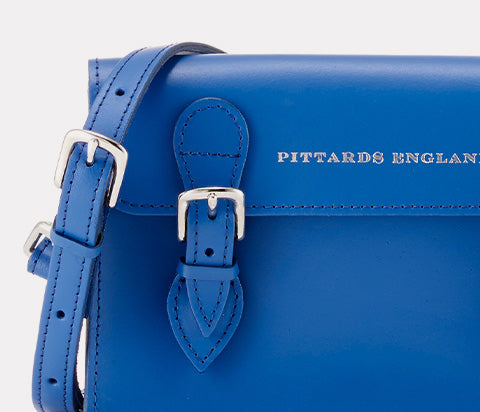 College Satchel Blue Small