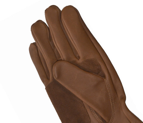 Brown Comfort Leather Gloves