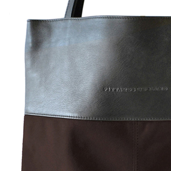 Brown Luxe Book Bag