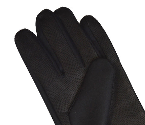 Black Thermal Cycling Gloves