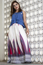 Load image into Gallery viewer, Pleated Long Skirt