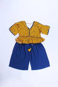 Yellow/Blue Q Lot 2pcs Set