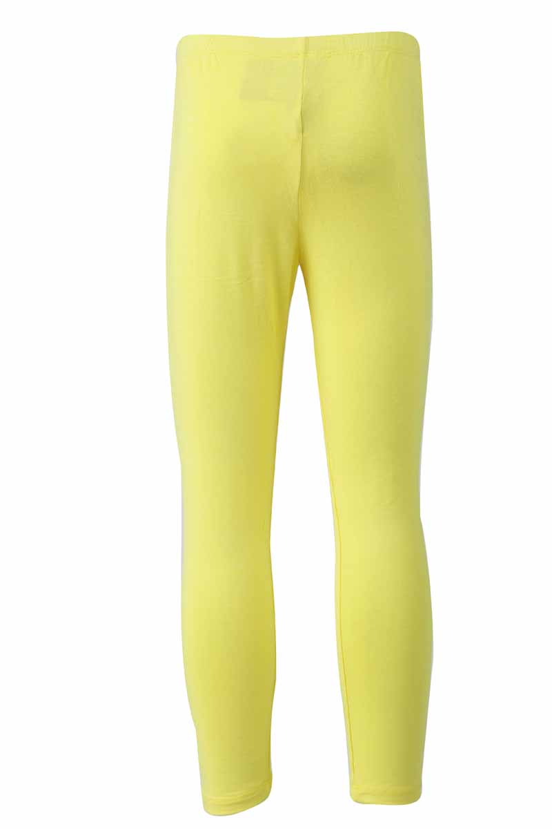 Lemon Yellow Knit Ankle tights