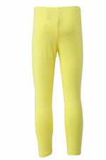 Load image into Gallery viewer, Lemon Yellow Knit Ankle tights