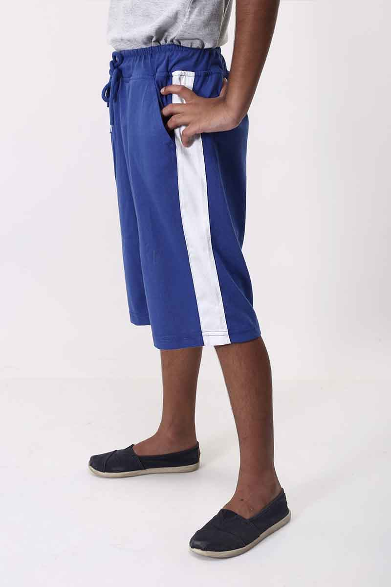 Side Stripe Boys Shorts