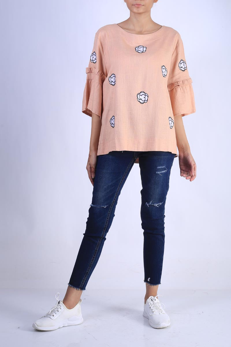 Cotton Embroidery Top