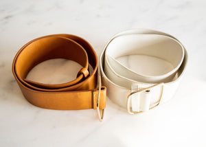 Leather Broad Belt