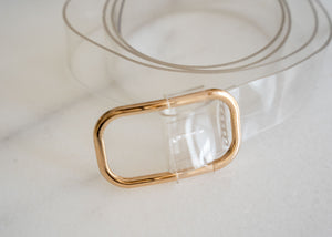 "1"" Plastic Transparent Belt"