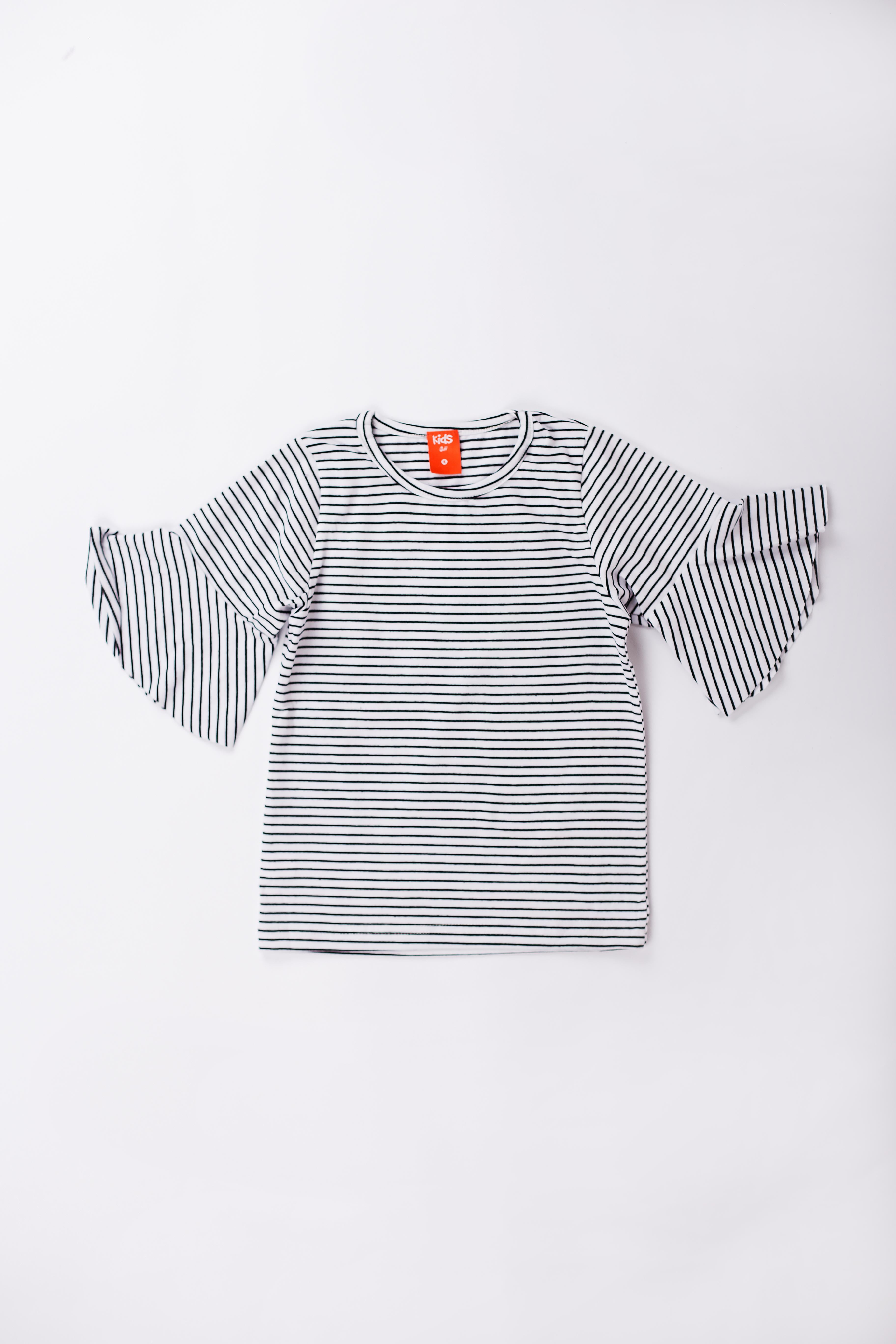 Yarn Dyed Striped T Shirt