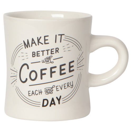 Better with Coffee Mug