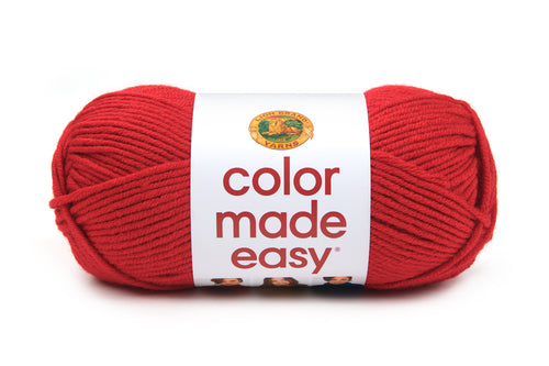 LION BRAND COLOR MADE EASY