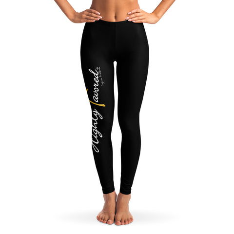 Highly Favored leggings blk