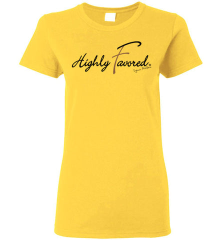 Highly Favored Ladies Tee