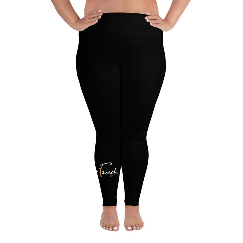 HF Plus Size Leggings blk