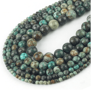 African Turquoise Beads for jewelry making amberlila-shop.myshopify.com