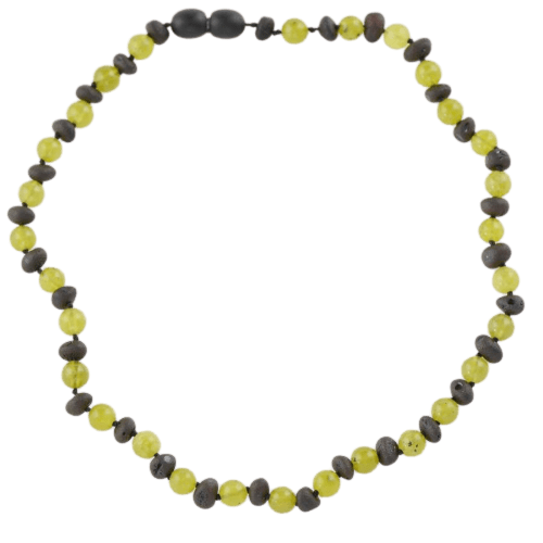 Amber necklace for kids or babies 34 cm amberlila-shop.myshopify.com