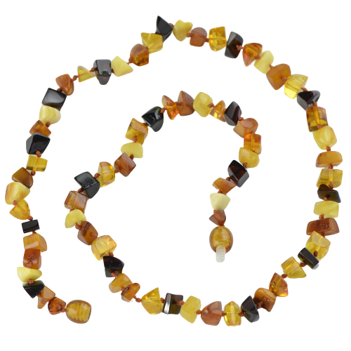 Baltic amber necklace mix beads