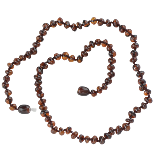 Baroque Cherry Baltic amber necklace