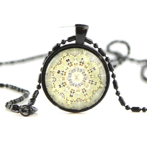 Glass dome necklace SN12